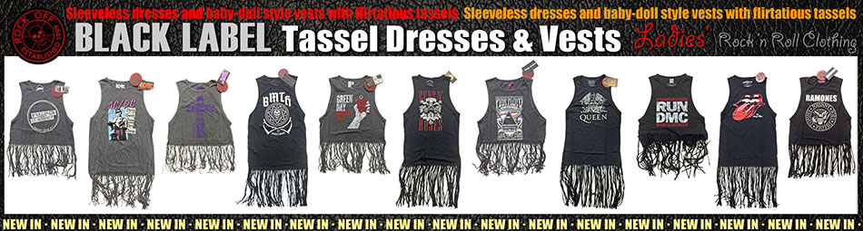 Tassel Vests and Tassel Dresses
