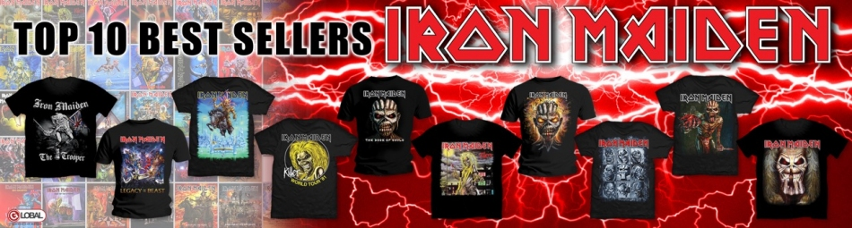 To 10 Best Sellers Iron Maiden