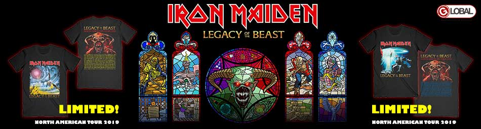Iron Maiden officially licensed merchandise