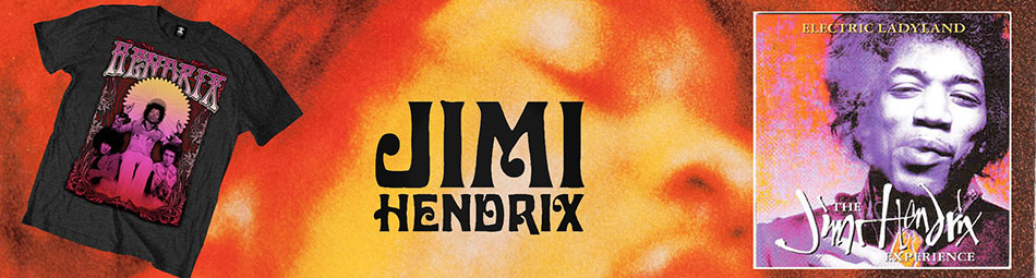 Jimi Hendrix Official Licensed Wholesale Merch