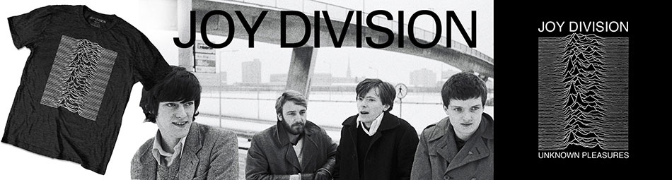 Joy Division Official Licensed Merchandise