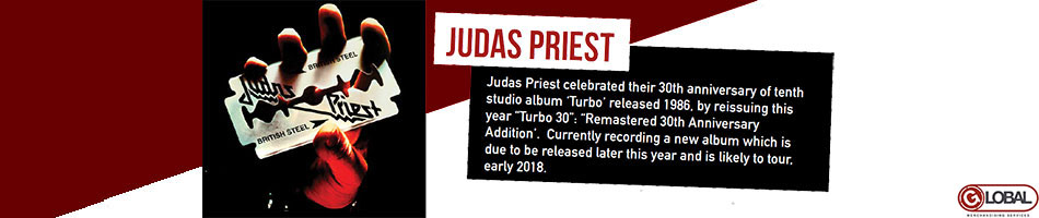 Judas Priest Artist Activity June 2017
