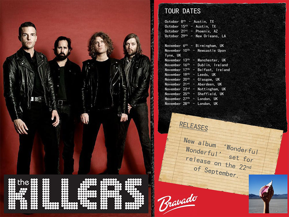 The Killers Artist Activity