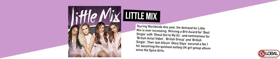 Little Mix Artist Activity from June 2017