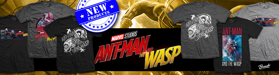 Ant Man and the Wasp Official Licensed Merch