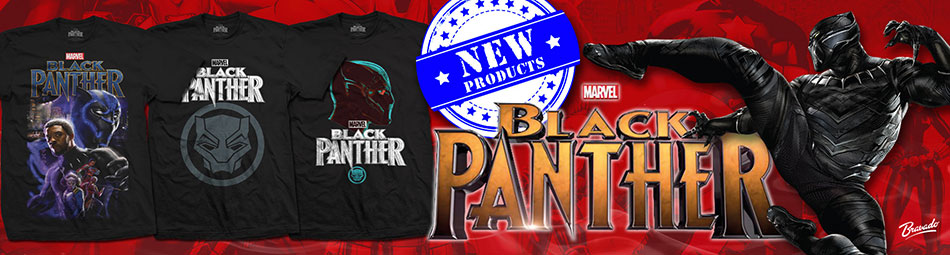 Black Panther Official Licensed Merch
