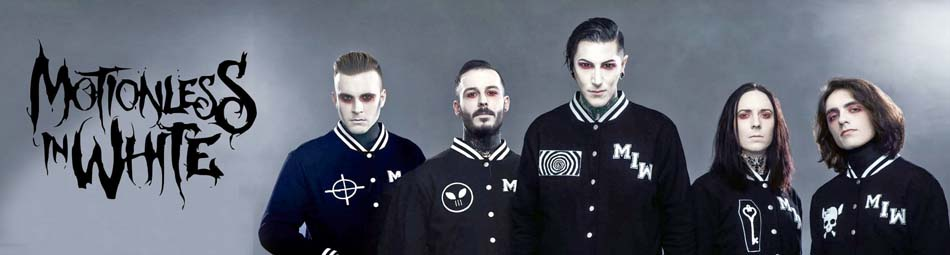 Motionless in White (MIW) Officially Licensed Wholesale Band Merch
