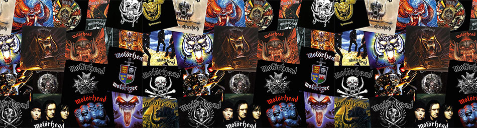 Motorhead officially licensed band tees and merchandise