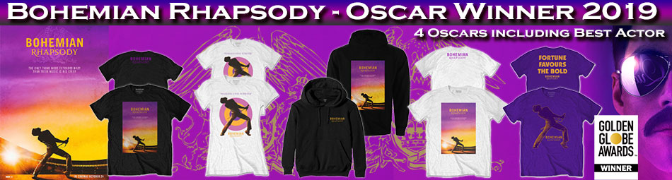 Official Bohemian Rhapsody Movie Merchandise