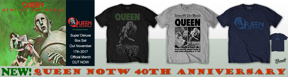 Queen NOTW 40th Anniversary