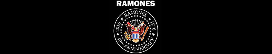 The Ramones official licensed merchandise