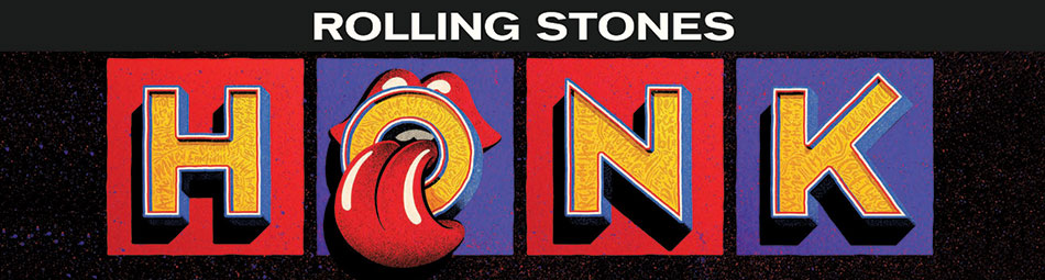 Rolling Stones HONK - view the complete range of HONK merchandise