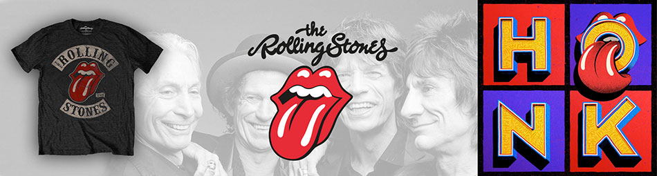 Rolling Stones Official Licensed Merchandise