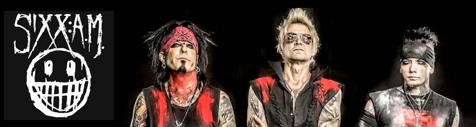 Sixx: A.M. Wholesale Licensed Band Merchandise