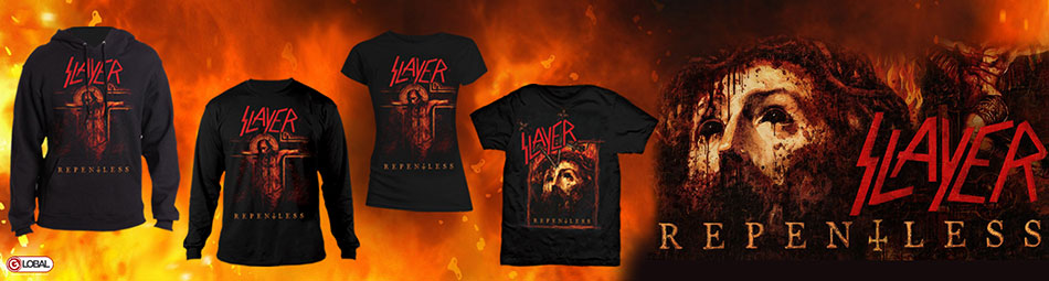 Slayer Repentless Album Banner