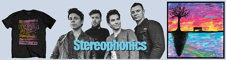 Stereophonics  Official Licensed Wholesale Band Merch
